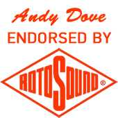 I am Endorsed by Rotosound Guitar Strings